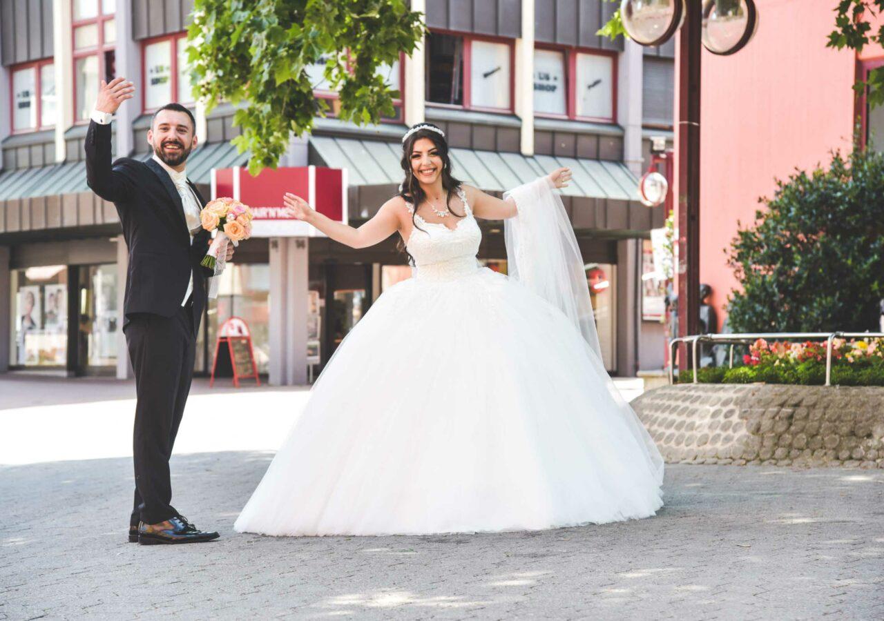 Hochzeitsfotograf in Vahingen Mark Platz