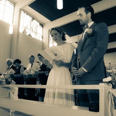 Kirchliche Hochzeit in Vahingen