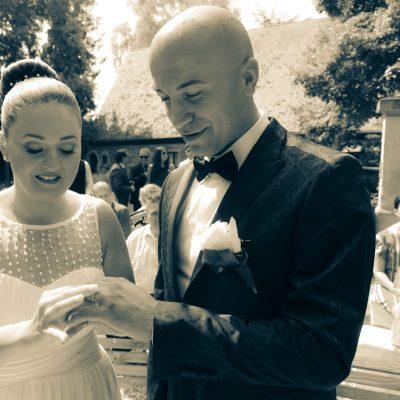 Hochzeit im park in Esslingen