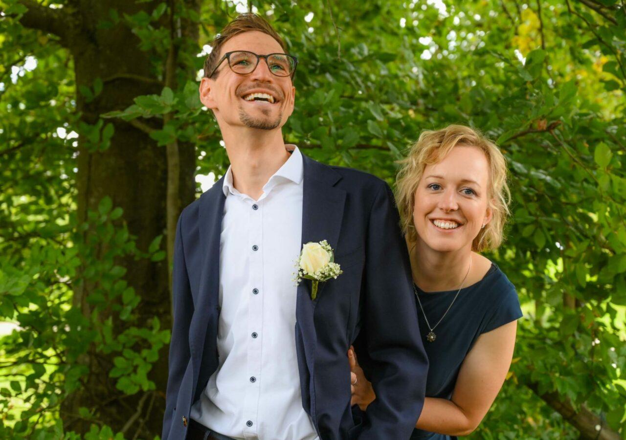 hochzeitsfotograf in Vahingen - Brautpaar-Shooting