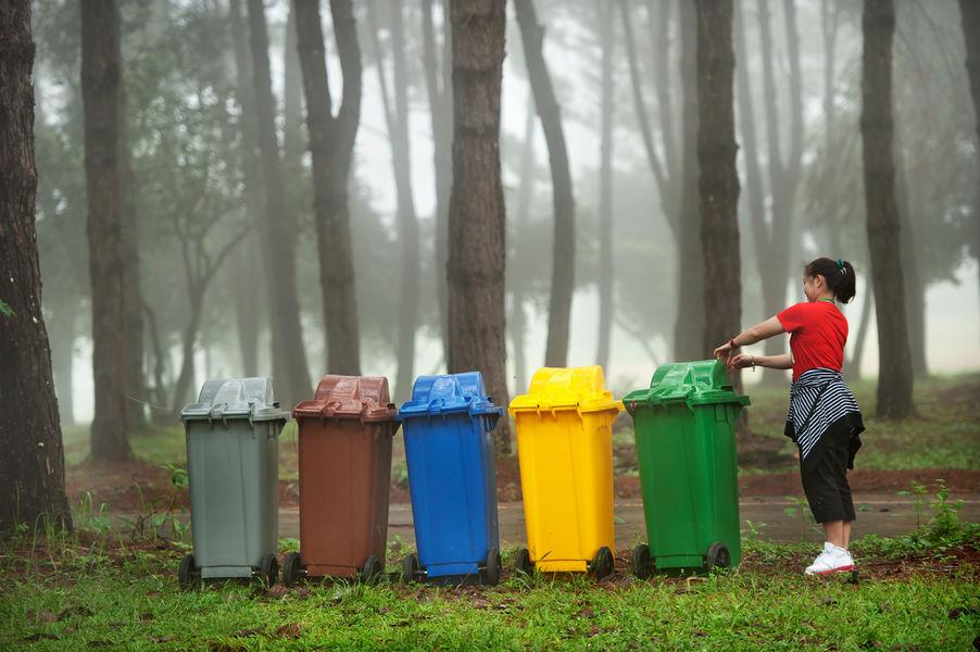 camper camperbus vanlife zelfbouw campervan afval scheiden