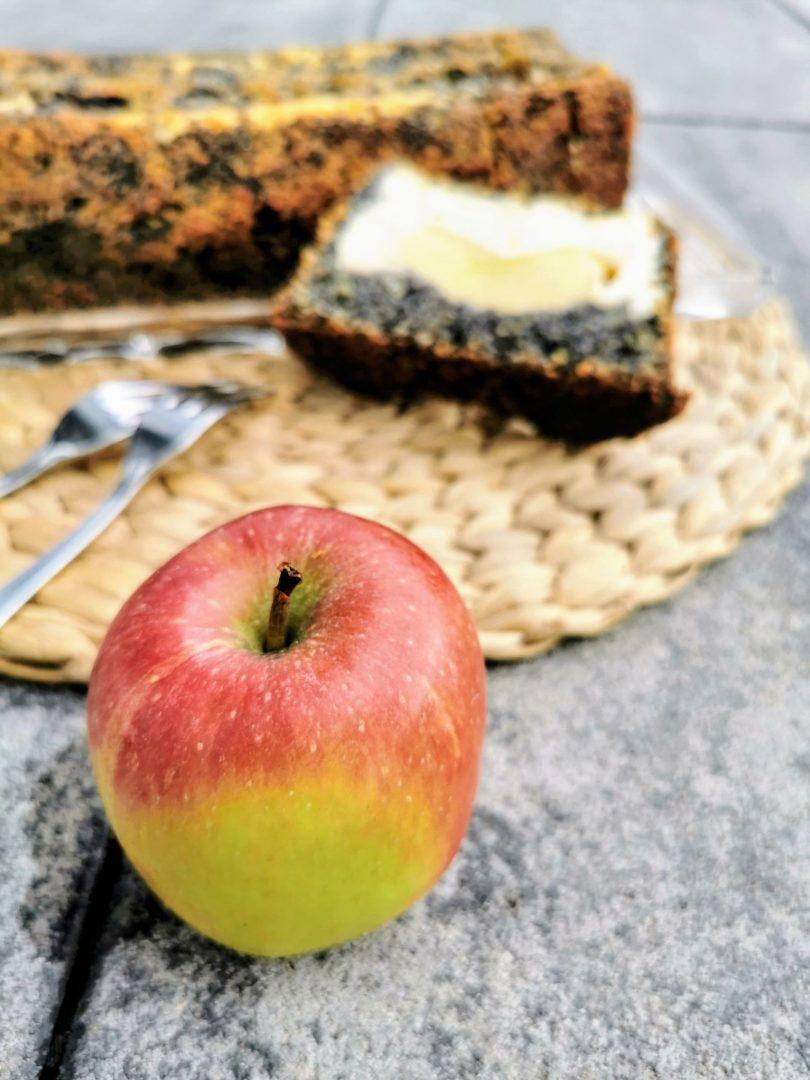 Mohn, Apfel und Quark - ein leckerer Kuchen mit Effekt: Rezept mit Schritt für Schritt Anleitung auf Cappotella, dem Foodblog im XXL-Format