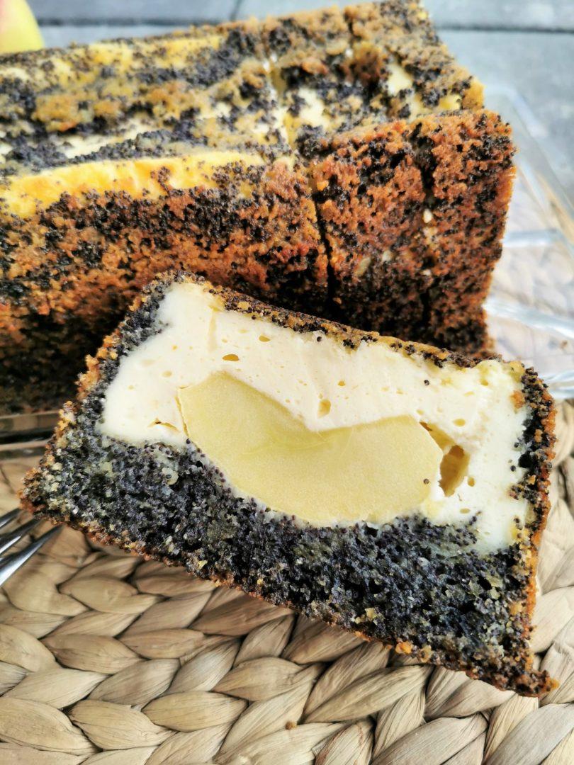 Käsekuchen Anschnitt - ein tolles Rezept für effektvollen Kastenkuchen auf Cappotella