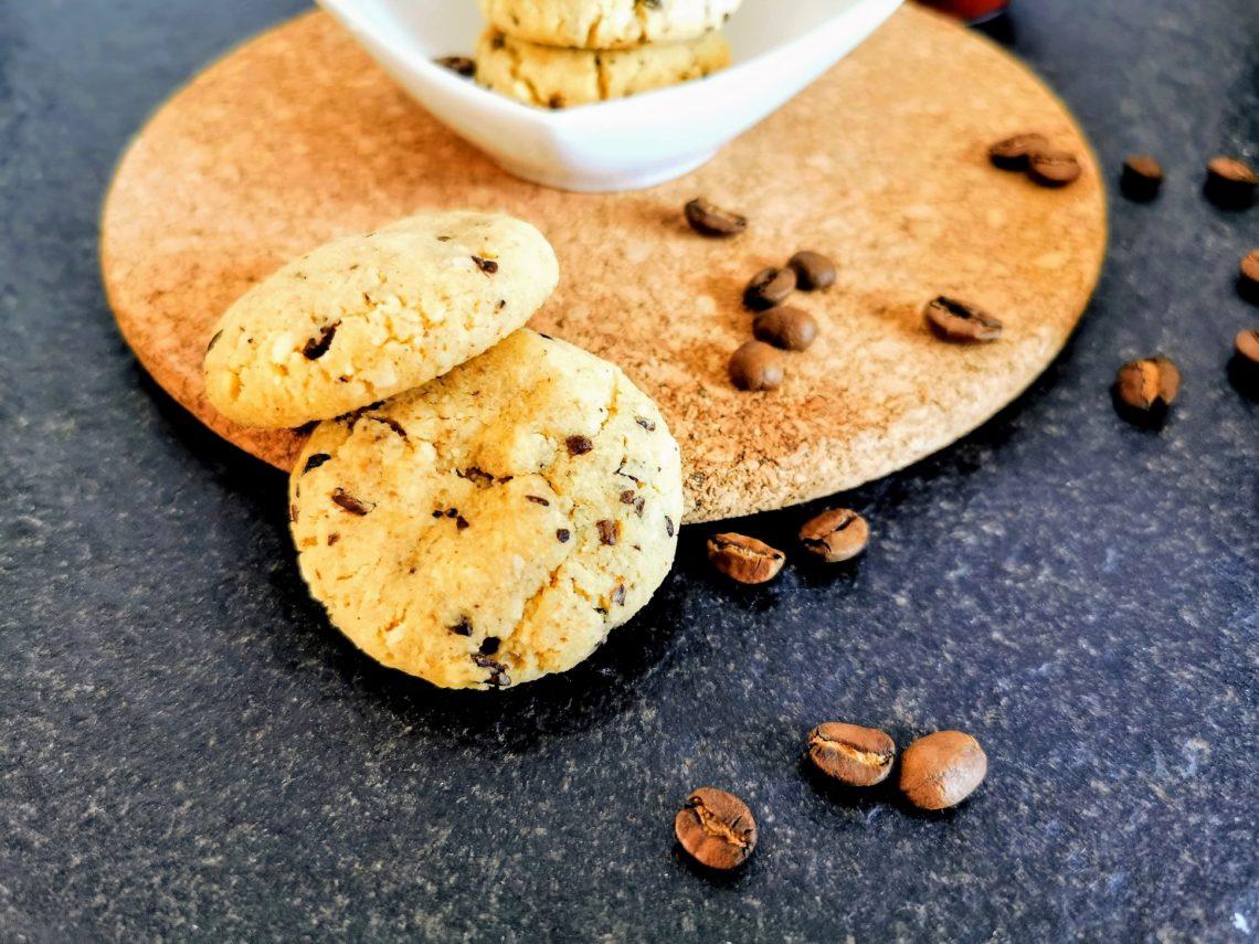 Mokka Cookies nach einem original amerikanischen Cookierezept. Diese Kekse muss man lieben!