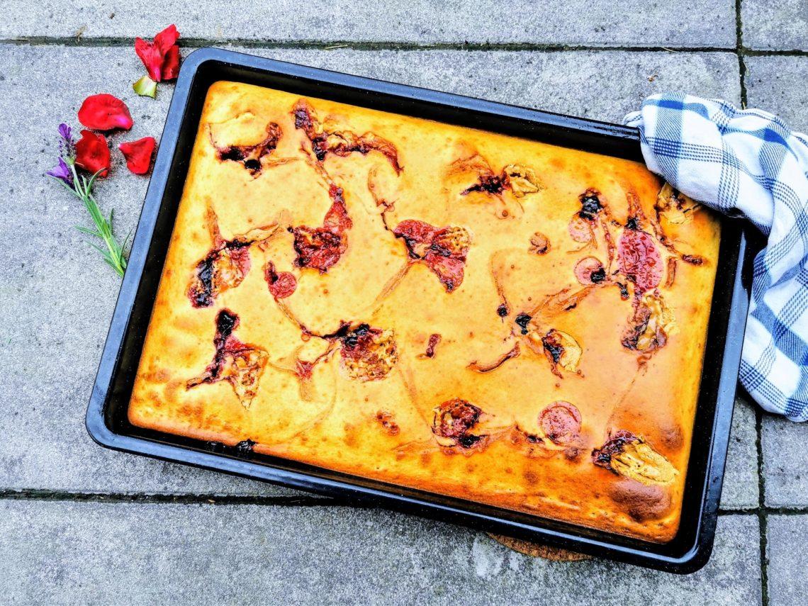 Dieser Ofenpfannkuchen vereint die Pfannkuchenliebe und Arbeitsersparnis. Schnell, lecker und unkompliziert