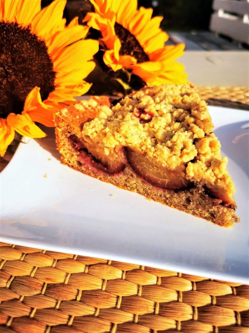 Zwetschgendatschi ohne Hefe - ein einfaches Backrezept für Streuselkuchen