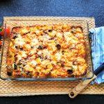 Leckerer Kartoffelauflauf, unkompliziert, kinderleicht und schmackhaft ist dieses vegetarische Kochrezept
