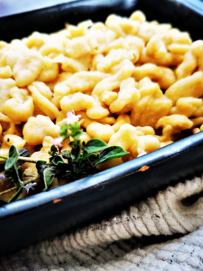 Knöpfle aus dem Grundrezept für Spätzleteig #kochen #rezept #kochliebe