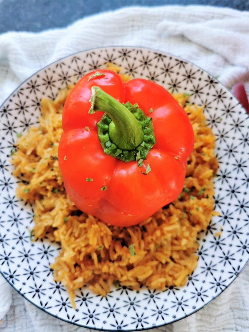 Gefüllte Paprika mit Reis - ein klassisches Rezept auf Cappotella, dem Kochblock, verfasst von Julie