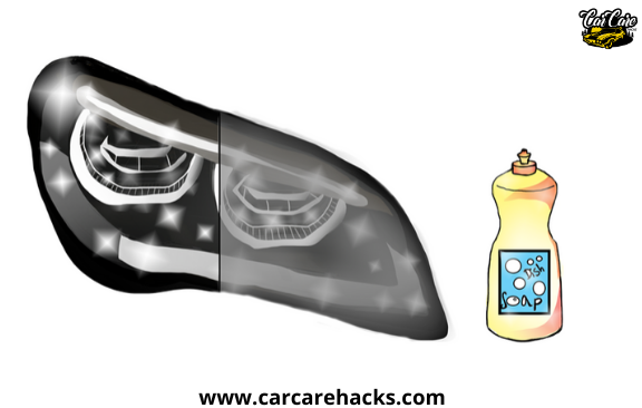 How To Clean Your Headlights With Dish Soap