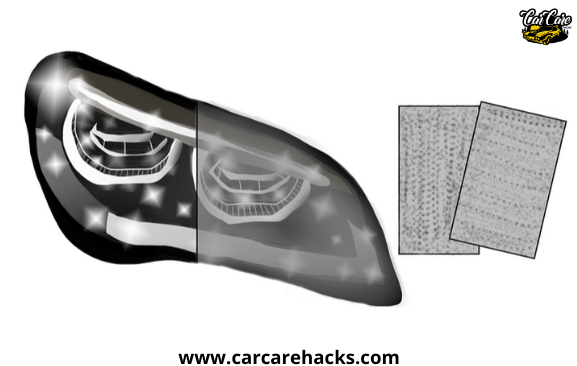 How To Clean Your Headlights With Sandpaper