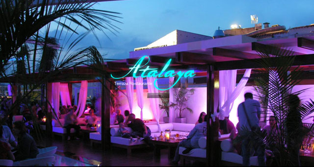 Atalaya Bar in Javea