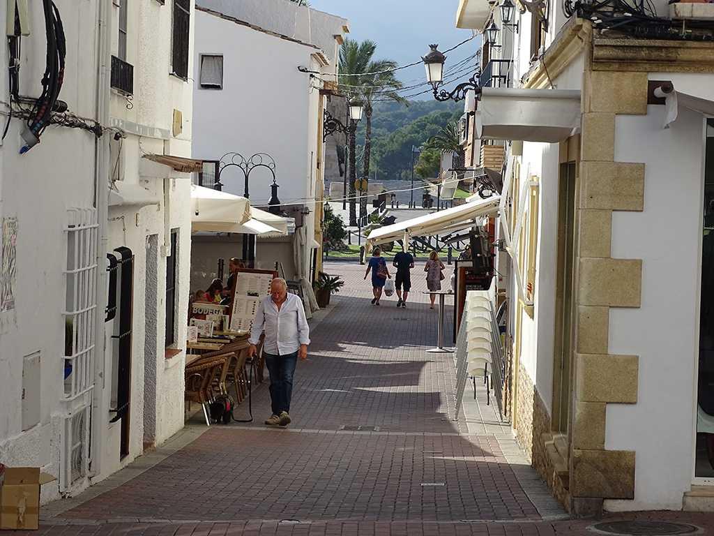 Moraira city center