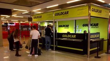 Car hire Goldcar in Moraira