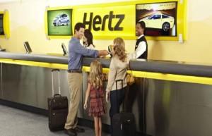 Car hire Hertz in Moraira