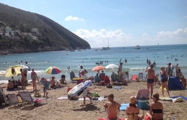 Climate and weather in Moraira