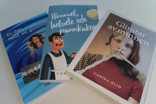 Nyheter! Bokmässa i Torslanda 4 september men också en ny tredje utgiven roman!