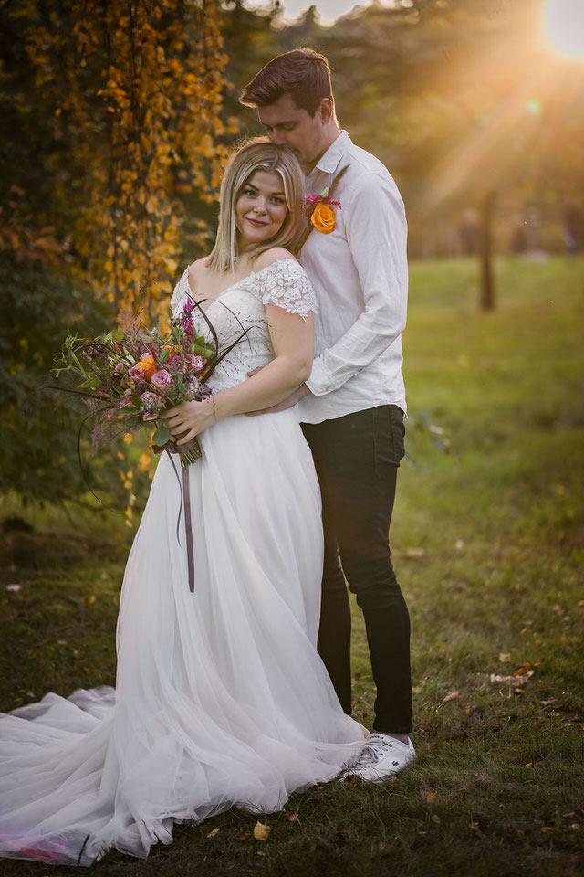 trädgårdsbröllop