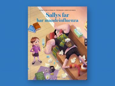 Sallys far har mandeinfluenza