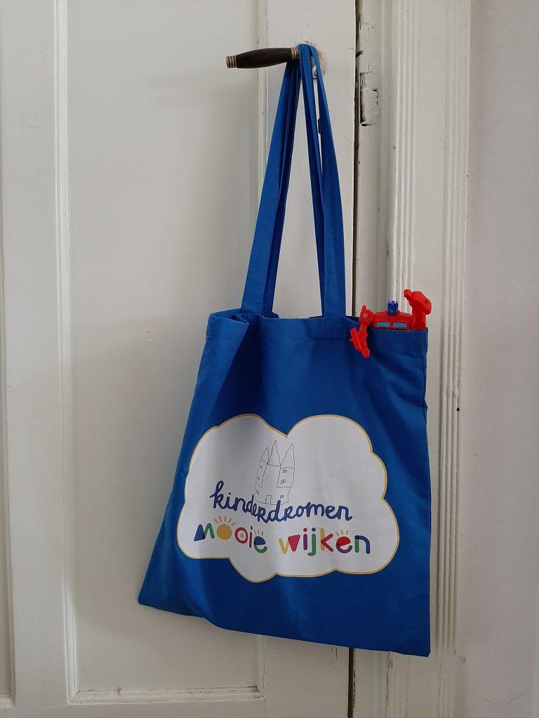Kinderdromen logo ontwerp in opdracht van MooieWijken Groningen