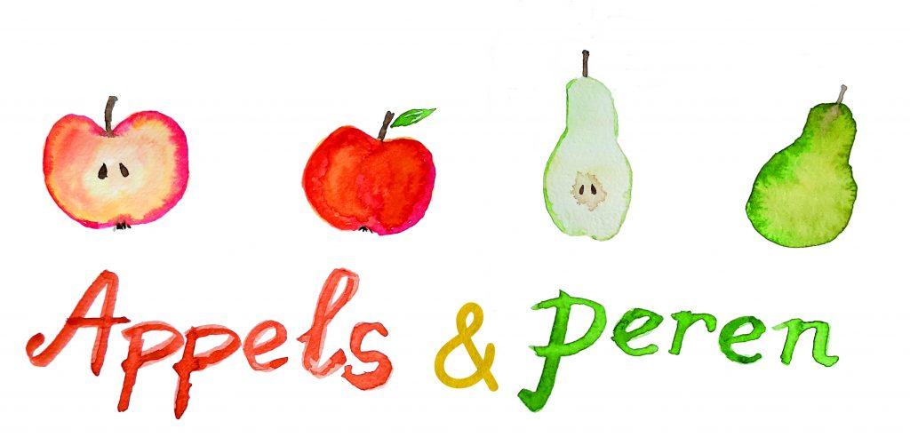 Appels & Peren illustratie