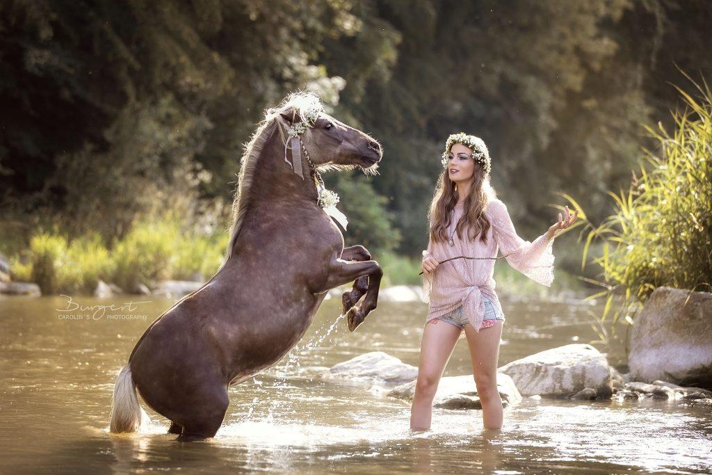 Liberty with Horses - Valeska mit Ihrem  Highspeed