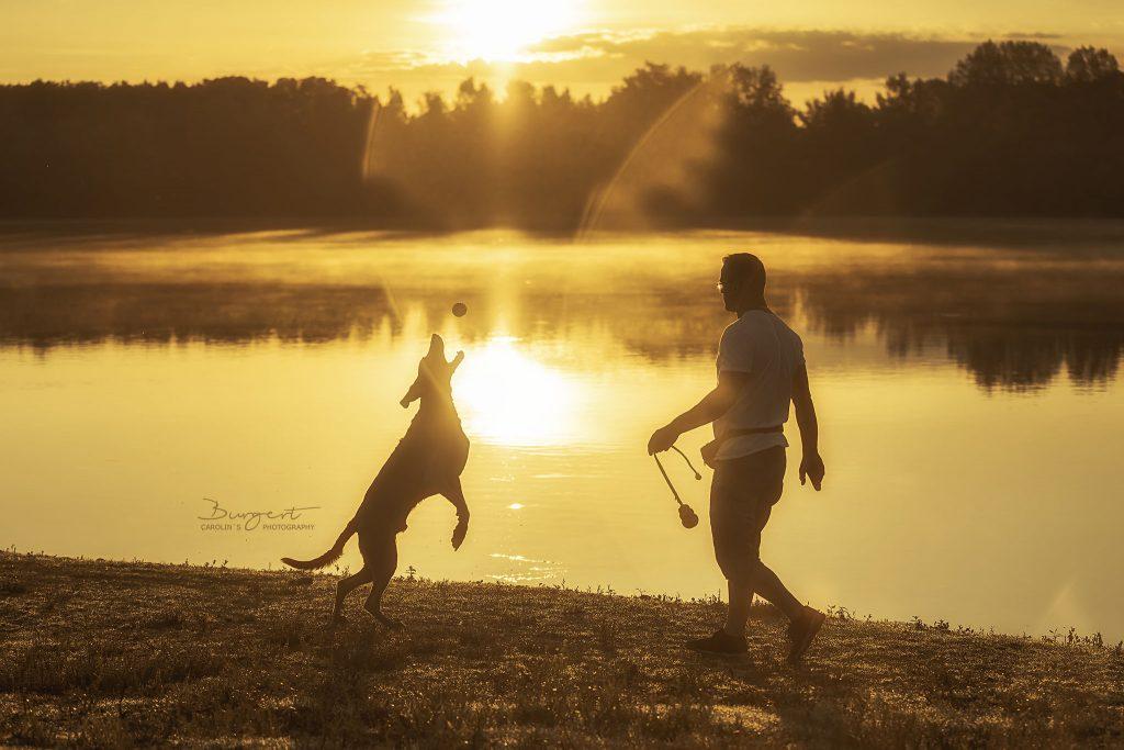 gemeinsam den Sonnenaufgang genießen