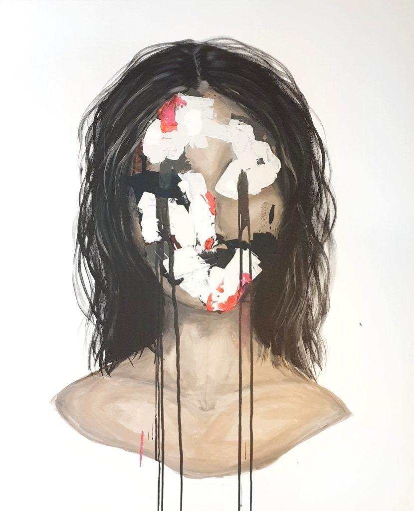 Målad tavla av Caroline Strand