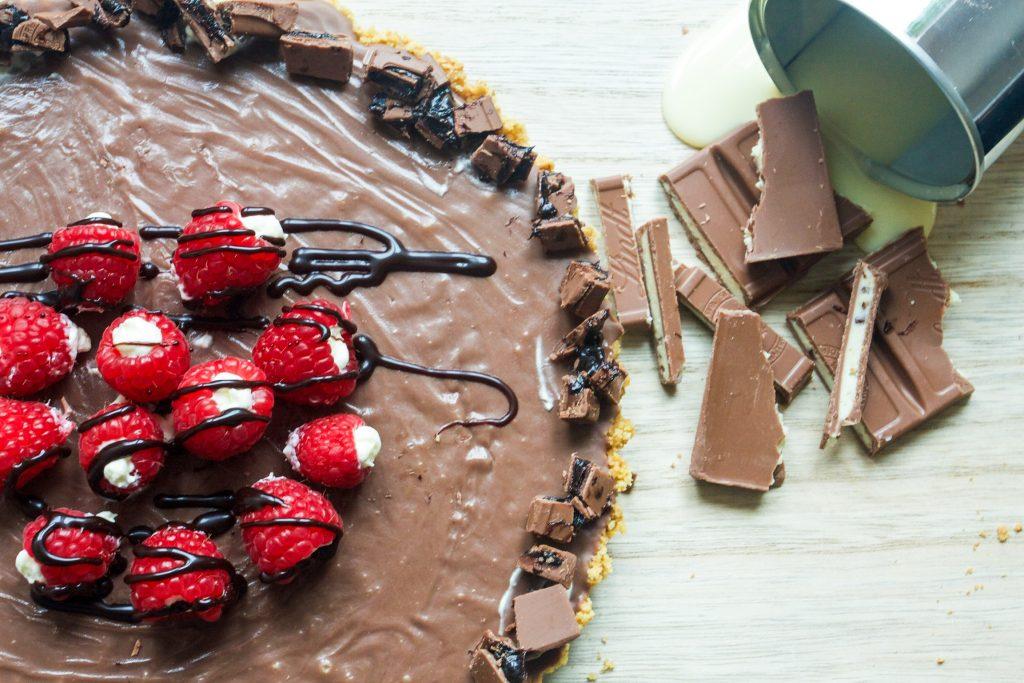 no bake choklad paj