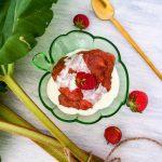 rhubarb cream