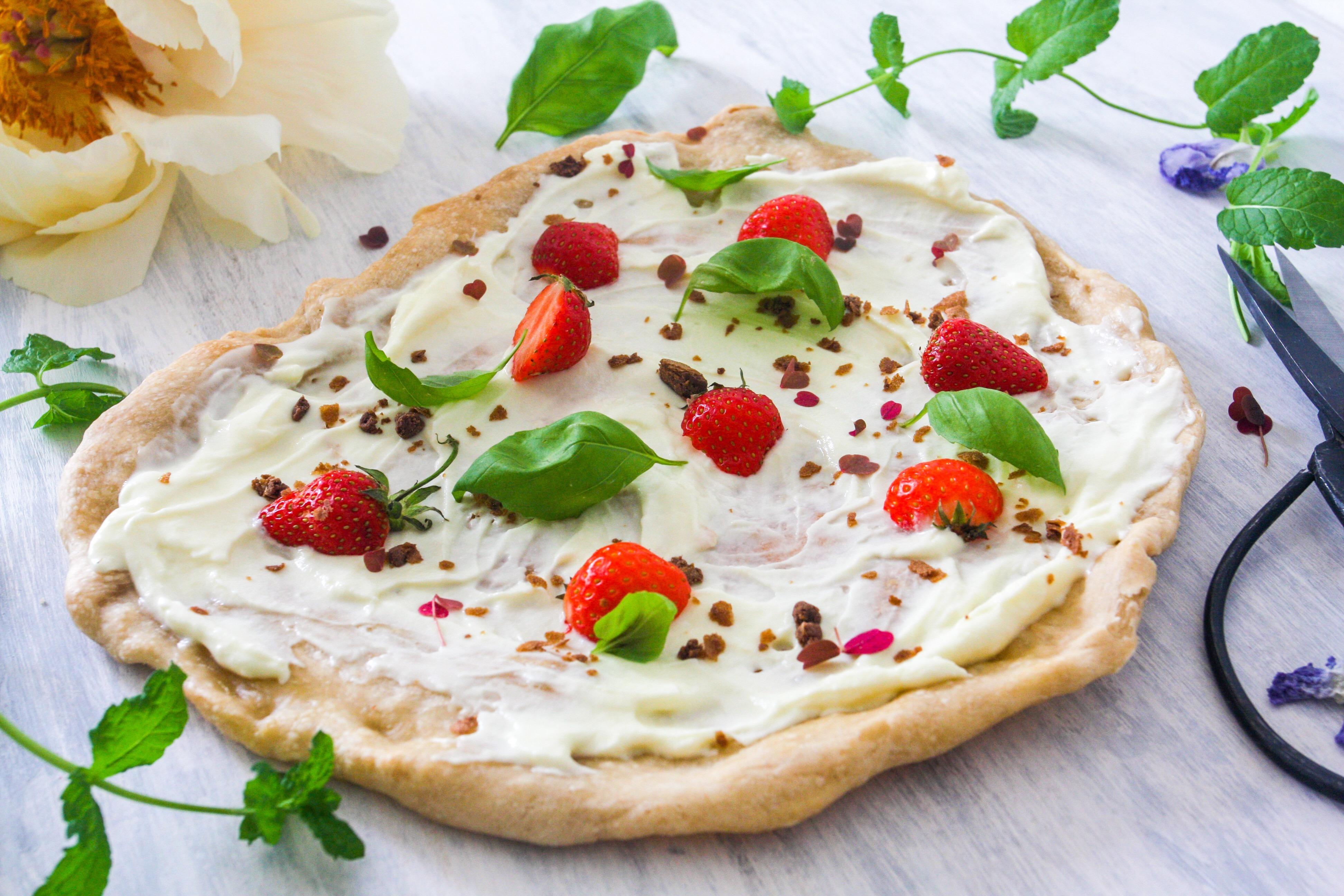 pizza som dessert