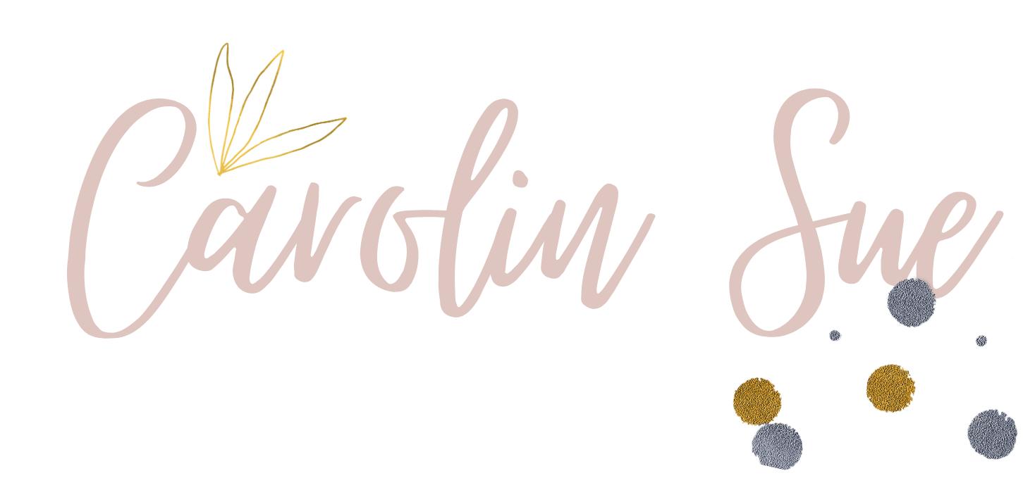 Carolin Sue Logo weiß