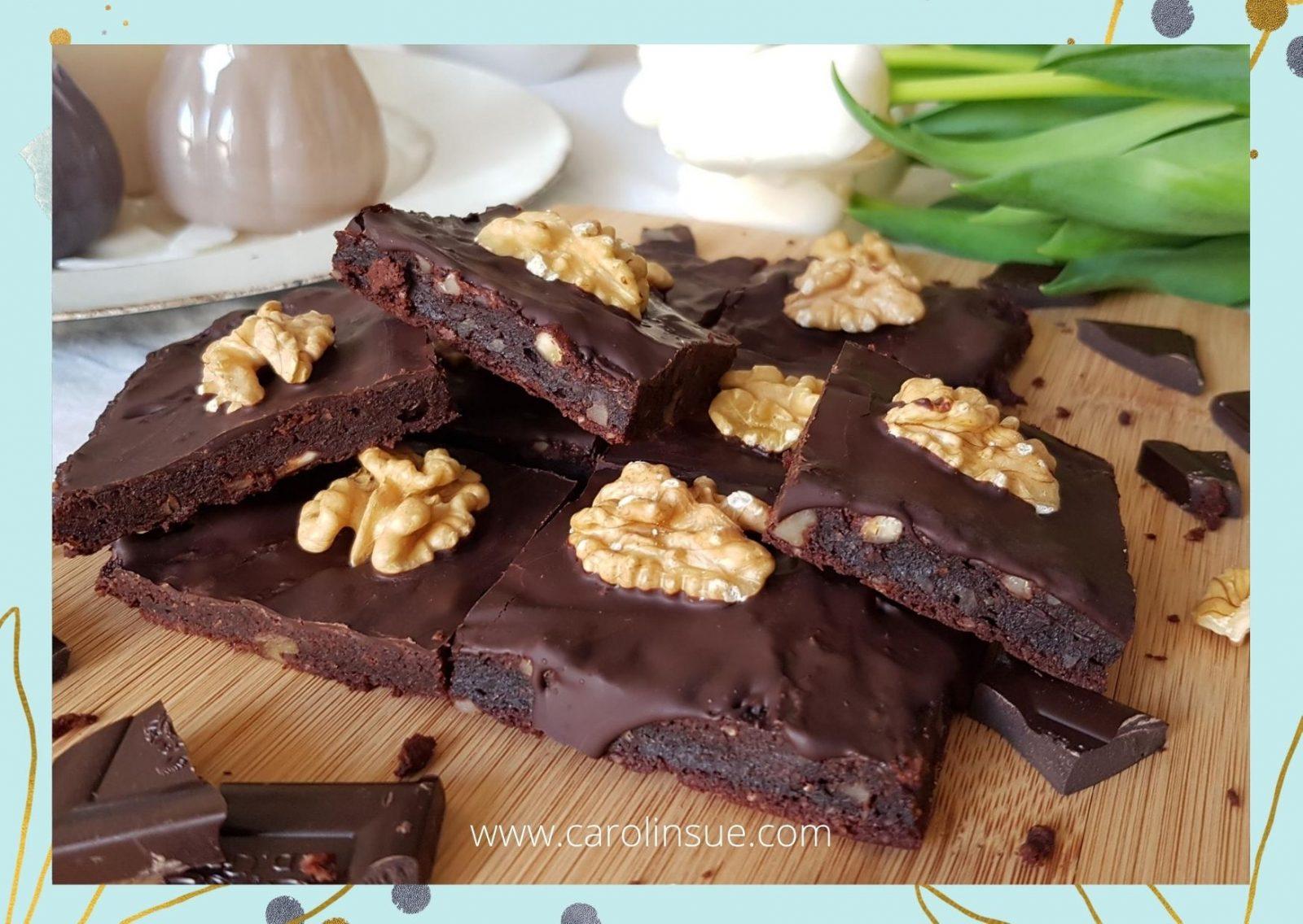 Süßkartoffel Brownies – vegan, glutenfrei, zuckerfrei