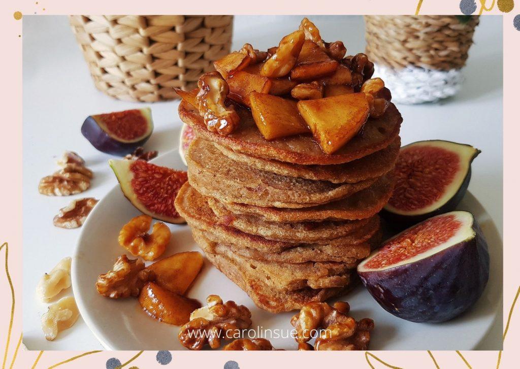 Süße Kürbis Pancakes