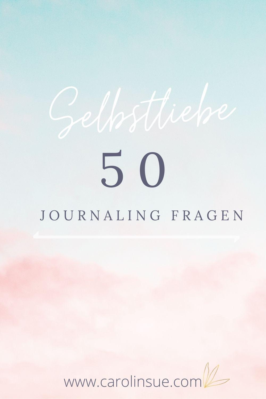 Selbstliebe Journaling