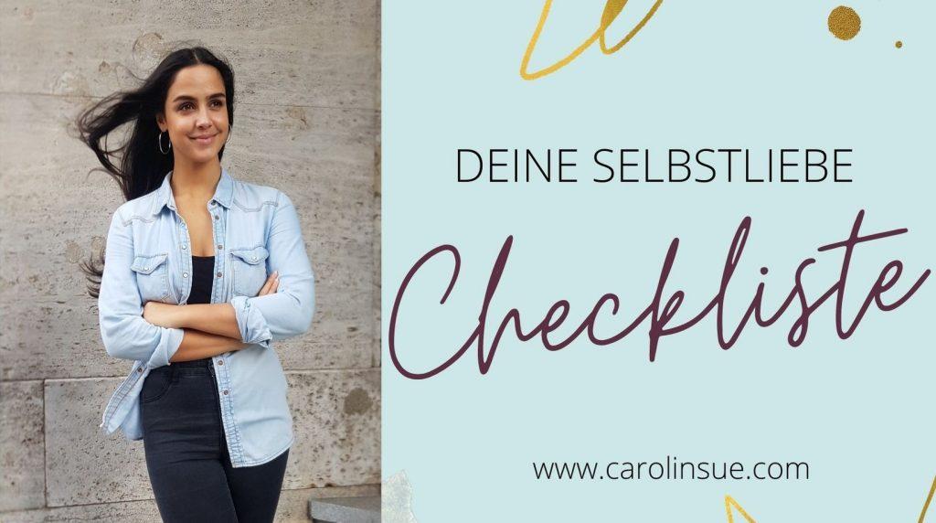 selbstliebe checkliste