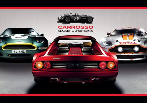New facade panel visuals Carrosso Classic- & Sportscars Carrosso Classic- & Sportscars