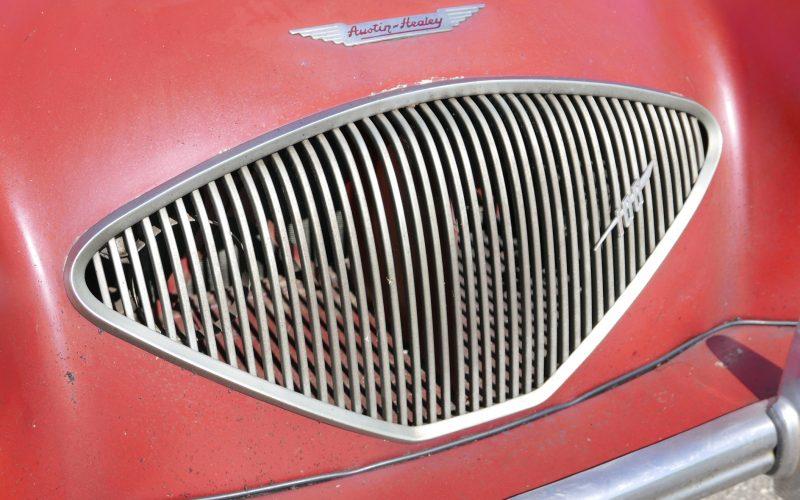 Austin Healey 100 BN1 Carmin Red