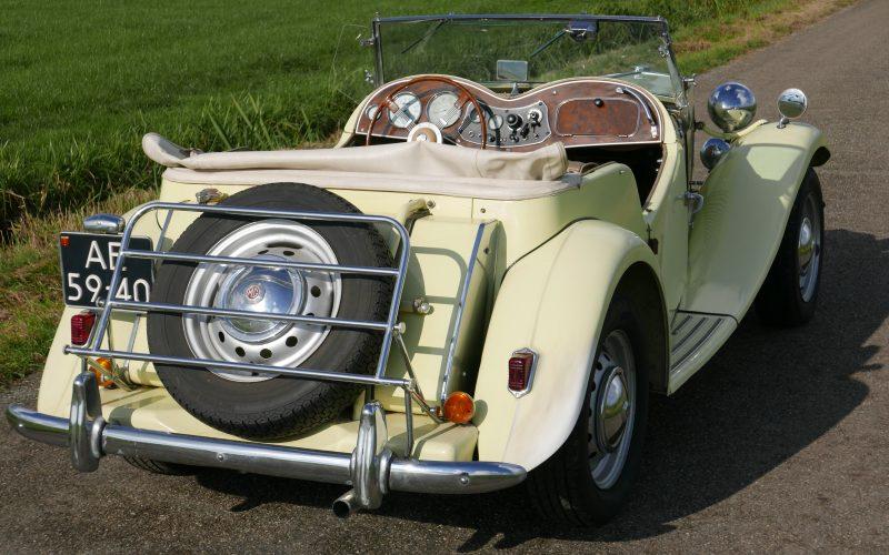 MG TD Roadster