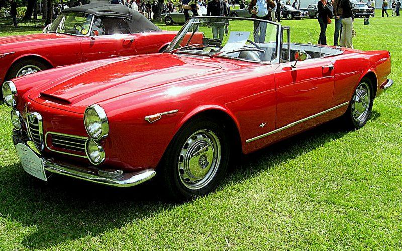 Alfa Romeo 2000 2600 Spider vervolg