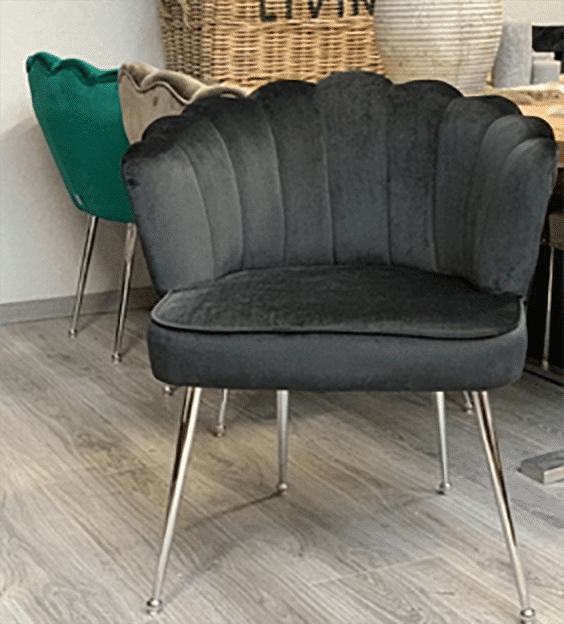 Dining room chair Shell black