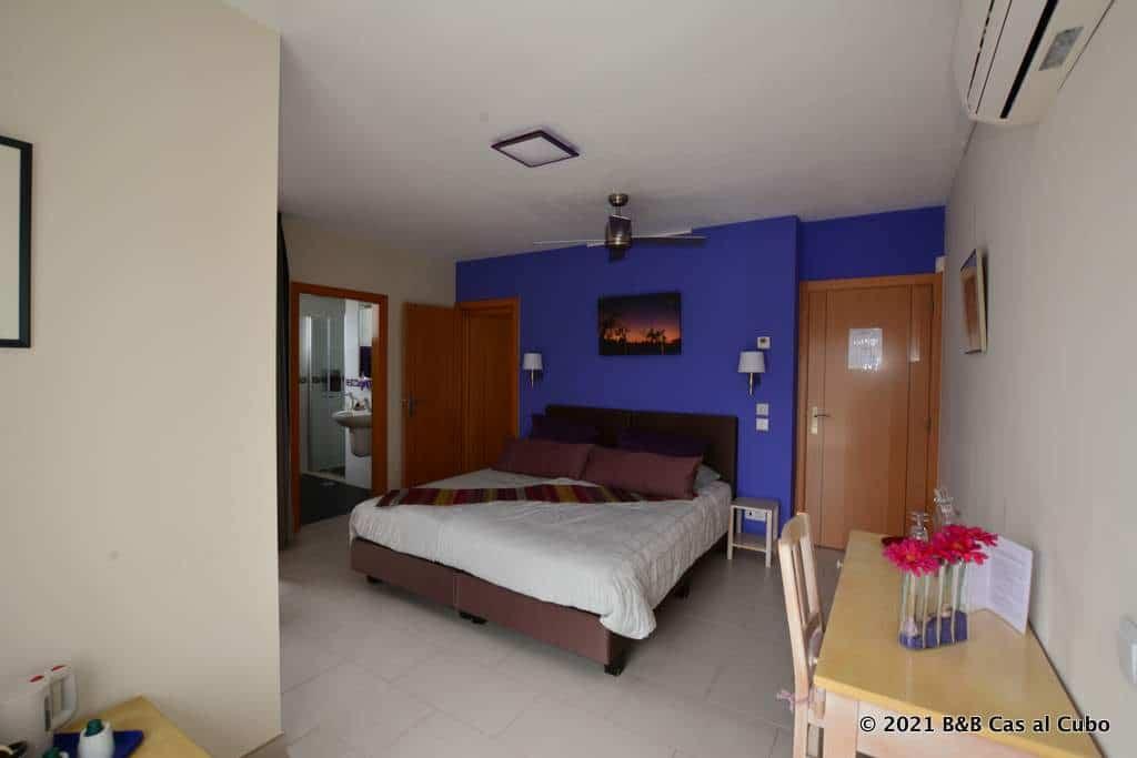 Gästezimmer Lavanda - Familienzimmer mit Zimmer Papa Figos im Pension Cas al Cubo