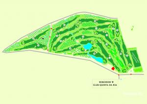 Coursemap Golf and country club Quinta de Cima Algarve