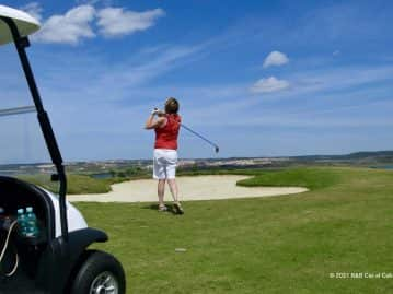 Golf courses Portugal - View from the green Quinta do Vale