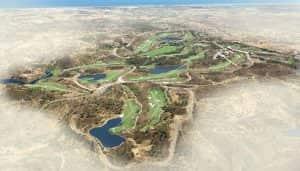 Golf holidays Algarve - Course map Monte Rei