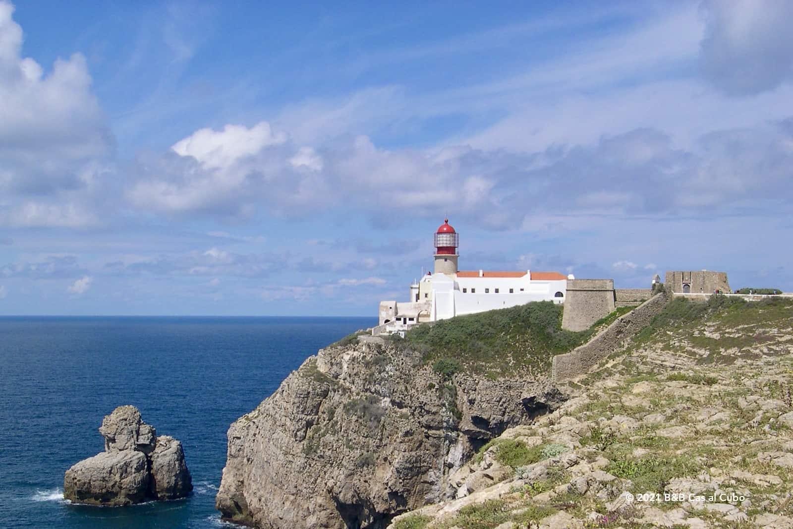 Most southwestern tip of the Algarve - Cabo de São Vicente