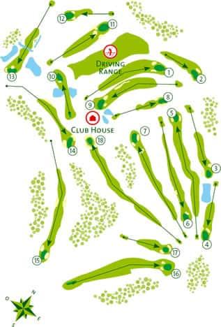 Golf course Algarve Benamor Tavira