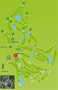 Algarve Golf holidays Portugal - Coursemap Castro Marim Golf