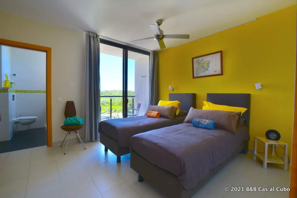 Junior suite Papa Figos bed en breakfast Cas al Cubo