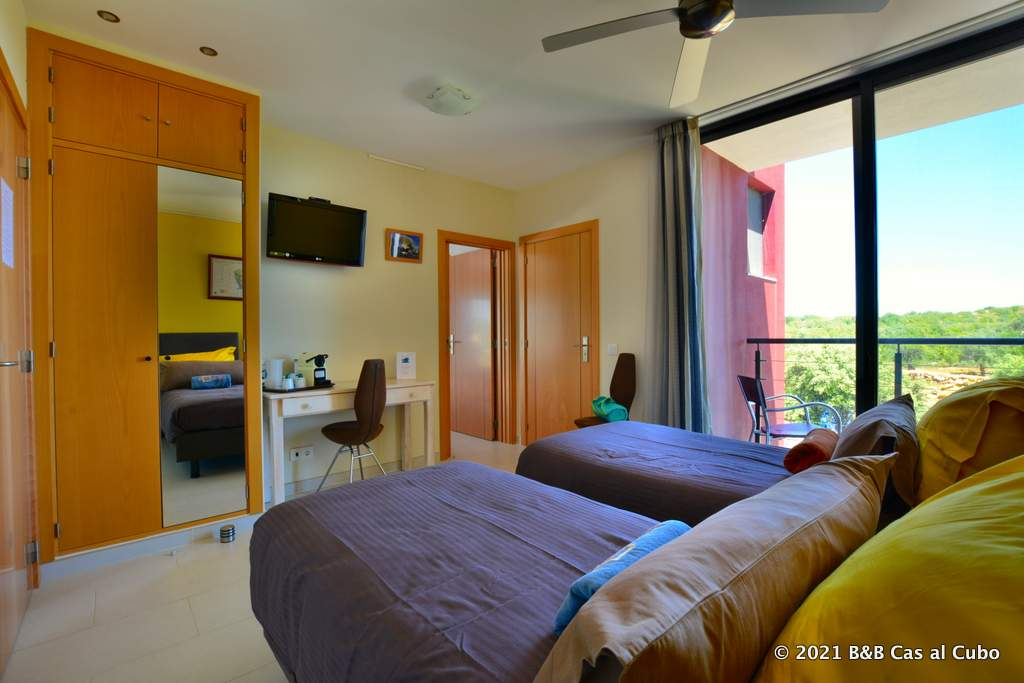 Papa Figos kamer - bed en breakfast Cas al Cubo